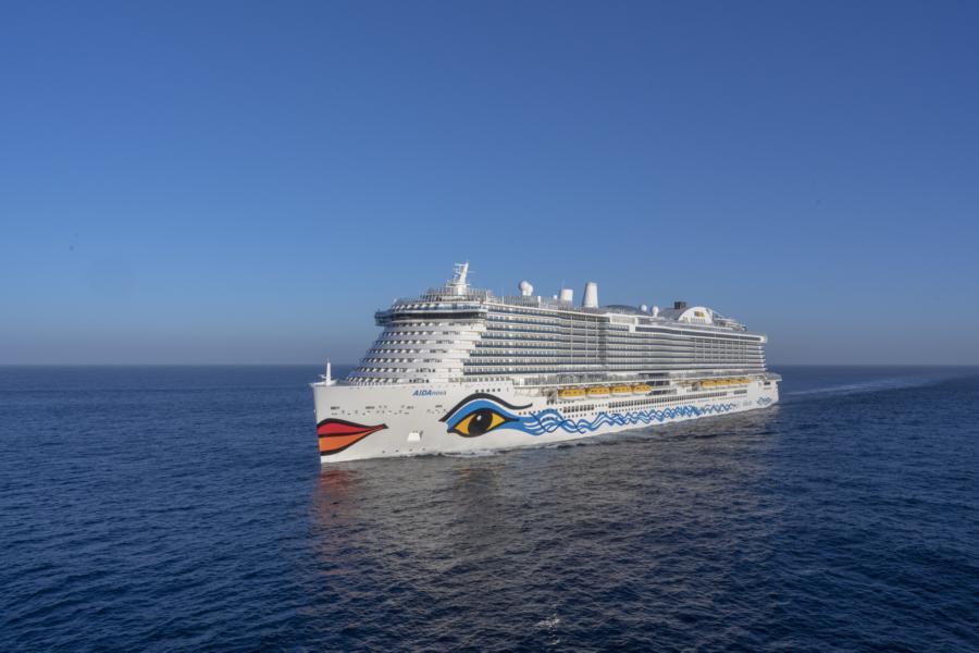Aida Nova auf See