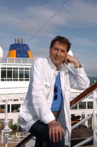Udo Jürgens (((Juergens))) an Bord der MS Europa