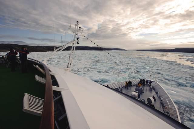 MS HANSEATIC legt insgesamt 4000 Seemeilen zurück