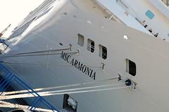 MSC Armonia im Hafen